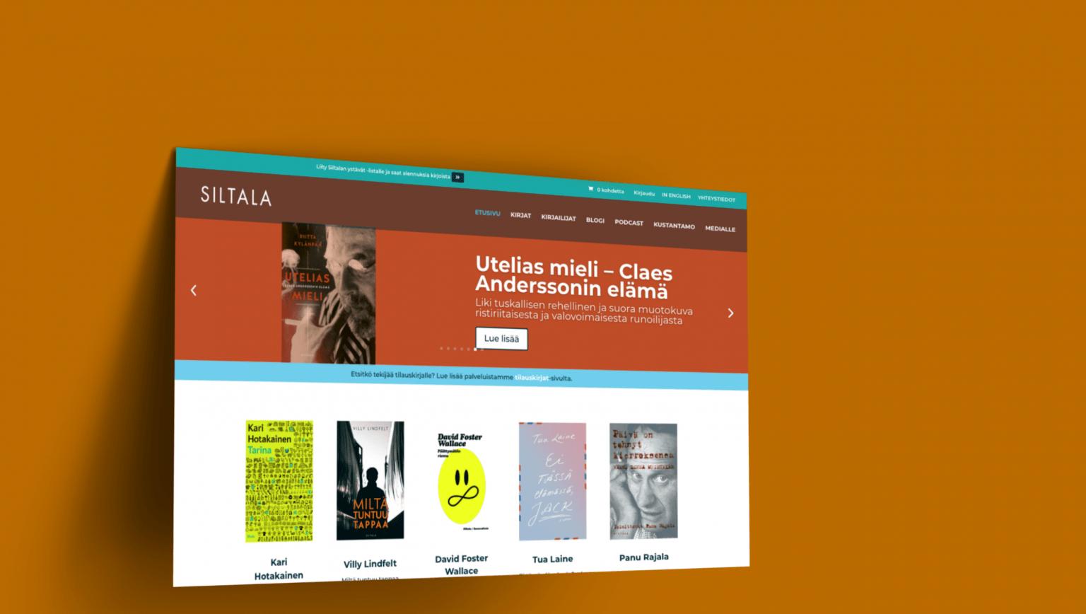 Siltala Publishing E-commerce Website